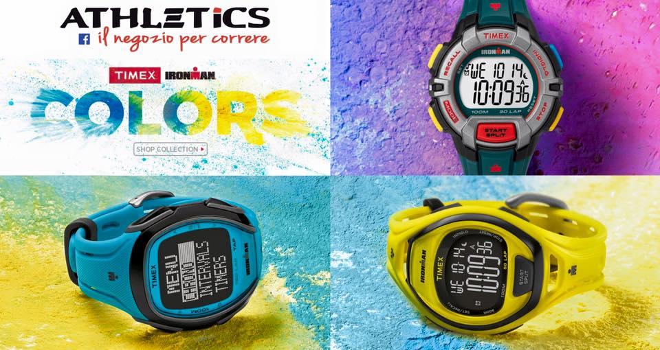 Nuovo orologi running da Athetics